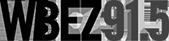 WBEZ 91.5 logo